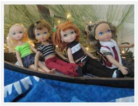 MGA 4 Ever Best Friends Dolls