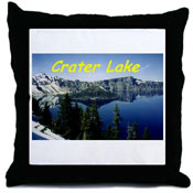 Crater Lake Throw Pill