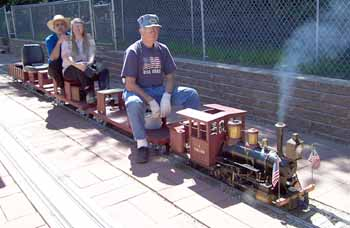 Live Steam Trains for Sale.  Live Steam Locomotive Products, Supplies, Books, Magazines.  How to build a Live Steam Train. Garden size and large Scale Trains you can Ride.